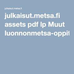 julkaisut.metsa.fi assets pdf lp Muut luonnonmetsa-oppitunneille.pdf