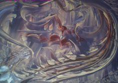 ELFENLAND, 60 x 40 cm, Acryl auf Holz  von Runa Argeya