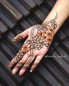 Mehndi Designs Front Hand, Latest Arabic Mehndi Designs, Rose Mehndi Designs, Henna Tattoo Designs Simple, Latest Bridal Mehndi Designs, Full Hand Mehndi Designs, Modern Mehndi Designs, Mehndi Designs For Beginners, Mehndi Designs For Girls
