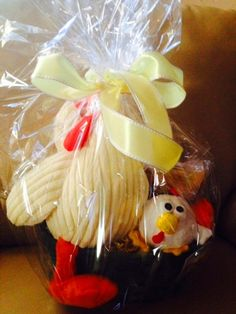 CHICKEN FUN Dog Gift Basket by HappyDogGoodies on Etsy, $7.99
