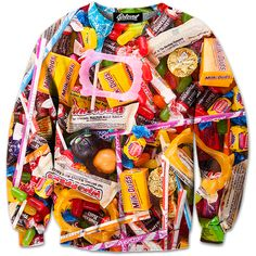 The best part about Halloween. Da Candy! Sweet Tooth Sweatshirt