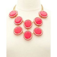 TIERED JEWEL STATEMENT NECKLACE