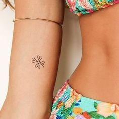 10 Four Leaf Clover Tattoos NOT for St. Patrick's Day | Tattoo.com