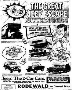 103 best cj5 jeep c er ideas images rv storage van c ing c er Lifted White CJ5 the great jeep escape cartoon ad cj5 jeep c er ideas