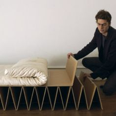 Creative Cardboard Furniture Designs 33 Creative Cardboard Furniture Designs - From Folded Cardboard Furnishings to Comfy Waffle Seating Creative Cardboard Furniture Designs - From Folded Cardboard Furnishings to Comfy Waffle Seating (TOPLIST)