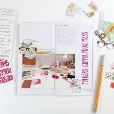 WEBSTA @ dearlydee - Alphas, stickers and die cuts left over from kits are the next part in the basics for starting a Traveler's Notebook series over #onmyblog and #youtube channel today. ⠀.⠀.⠀.⠀#travelersnotebook #onmydesk #planneraddict #basicsforTN #useitup