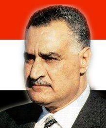 President of United Arab Republic - 1958 - 1970.