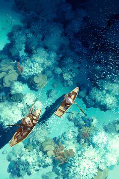 Boats by Shu Chen Li