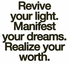 Be your dreams! In darkness and in light