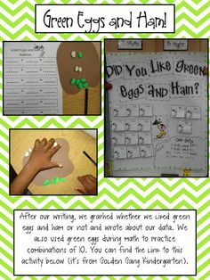 green eggs and ham activities