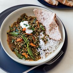 Green-Lentil Curry
