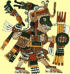Mixcóatl-Camxtli - Dios de la Caza, Serpiente de Nubes (Vía Láctea) (Aztec god of hunt, serpent of the clouds (milky way))
