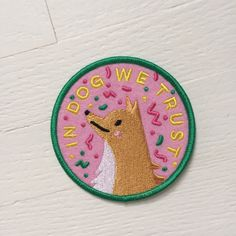These super-sweet embroidered patches from Kodiak Milly are like membership badges for the dog-lovers' club.