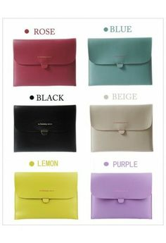 #Chicwish  Candy Color Ipad Case (Clutch)