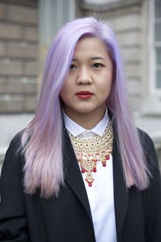 Few beauty trends are as delicate and pretty as the pale purple hair that's all over Instagram and the red carpet alike. Pastel hair isn't easy to maintain, but if you follow these pro-approved daily hair tips, you can get your dyed locks as healthy as this style star's in no time.