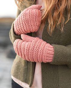 Ravelry: Family Mittens pattern by Carrie Bostick Hoge Knitted Mittens Pattern, Knitted Gloves, Fingerless Mittens, Loom Knitting, Knitting Socks, Hand Knitting, Knitting Patterns, Hat Patterns, Mittens