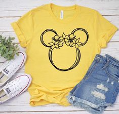 Excited to share this item from my shop: Minnie flower shirt Disney Women shirts Disney shirts Disney family vacation shirts Women Disneyland women shirt Disney family shirts Family Vacation Shirts, Disney Vacation Shirts, Disney Shirts For Family, Disney Tees, Disney Disney, Cute Disney Shirts, Vacation Packing, Cute Shirts, Cute Disney Outfits