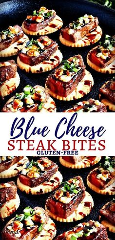Carnivore's Dream 15 Steak Appetizers That Will Blow Away Every Meat Lover - R. Carnivore's Dream 15 Steak Appetizers That Will Blow Away Every Meat Lover – R…, Steak Appetizers, Mini Appetizers, Elegant Appetizers, Gluten Free Appetizers, Finger Food Appetizers, Appetizer Recipes, Appetizer Party, Party Recipes, Holiday Recipes
