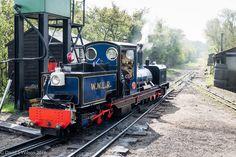 "https://flic.kr/p/GTFfq5 | WWLR No.5 ""Norfolk Hero"" | A 10 1/4"" gauge Beyer Garratt style locomotive. One of two owned by the railway. The WWLR is the longest 10 1/4"" public line in the world. Panasonic DMC-TZ100."