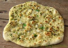 Herbed Naan (from 5 Minute Dough!)