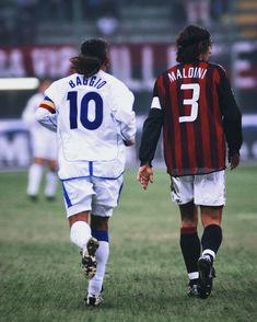 a70add66f92 Roberto Baggio and Paolo Maldini Football Boots