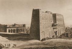 Description de l'Egypte [DESCRIPTION DE L'EGYPTE OU RECUEIL DES OBSERVATIONS ET DES RECHERCHES QUI ONT ÉTÉ FAITES EN ÉGYPTE PENDANT L'EXPÉDITION DE L'ARMÉE FRANÇAISE, PUBLIÉ PAR LES ORDRES DE SA MAJESTÉ L'EMPEREUR NAPOLÉON LE GRAND. PARIS, C.1809-C.1822]