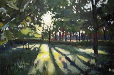 High Park Morning Kieran Randall (2013) Oil on canvas 20in × 30in × 1in Current Bid: $800 #Toronto #art  ARTBOMB: BUY WHAT YOU LOVE