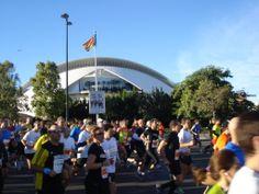 Maratón y 10 Km Valencia 2013
