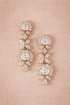 Hair Accessories Jewelry Eloise Crystal Drops in Bride Bridal Jewelry Earrings at BHLDN Bridal Accessories, Jewelry Accessories, Jewelry Design, Jewelry Sets, Jewelry Stores, Jewelry Making, Jewelry Trends, Fashion Accessories, Bridesmaid Jewelry