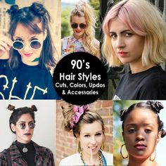 '90s Hair Styles | Cuts, Colors, Updos, & Accessories