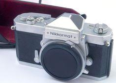Nikon Nikkormat FTn (FT N) Chrome (Non AI) 35mm Camera BODY ONLY  GWO c1967-75