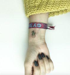 Tiny cactus of wrist by Cagri Durmaz
