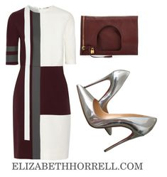 """LIZ"" by elizabethhorrell ❤ liked on Polyvore featuring moda, Fendi, Christian Louboutin i Tom Ford"