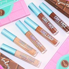 Cake Face Concealers Love Makeup, Makeup Looks, Beauty Bakerie, Too Faced Concealer, Cake Face, Cosmetics, Make Up Looks, Drugstore Makeup