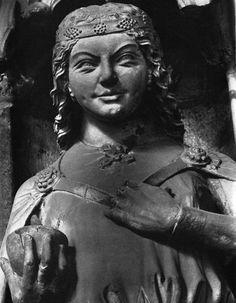 Magdeburger Dom – Девы мудрые и неразумные. Скульптурная группа Магдебургского собора