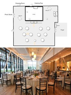 Banquet plan space layout use this software to lay out for Wedding venue software