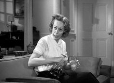 Eileen Heckart as Hortense Daigle in The Bad Seed Scary Movies, Great Movies, Horror Movies, The Bad Seed, Lights Camera Action, Love Movie, Vintage Movies, Favorite Tv Shows, Movies And Tv Shows