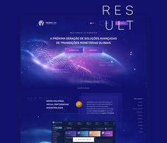 Nasdacoin - Web Design on Behance Tech Websites, Motion Design, Behance, Web Design, Chart, Map, Animation, Design Web, Location Map