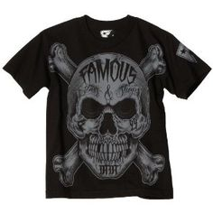 Famous Stars and Straps Boys Inked Skull Boys Youth Tee, Black, Small (Apparel) Famous Stars And Straps, Cool Shirts, Men's Shirts, Tees, Xmas Gifts For Him, Crooks And Castles, My One And Only, Big Boys, My Style