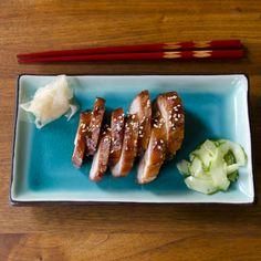Hoisin-Glazed Barbecue Pork Adapted from the Honolulu Star Bulletin 1 pork tenderloin, about 1-1.5 lbs. 1/4 c. sugar 2 T. hoisin sauce 2 T. ketchup 1 t. Chinese 5-spice 1 T. salt 1 T. sesame oil 1 T. brandy