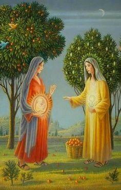 Catholic Mass Readings, Catholic Art, Religious Art, Catholic Catechism, Catholic Answers, Blessed Mother Mary, Blessed Virgin Mary, Sainte Rita, Mama Mary