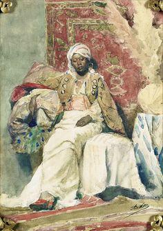Adrien de Witte (1850-1935), Rêverie