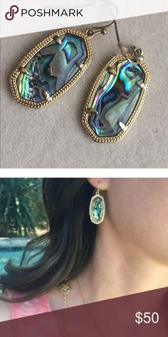 Host Pick Nwt Kendra Scott Abalone Harlow Jewelry And