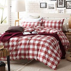 Bedding Sets for Luxury Homes – Best Bed Linen Ever Rustic Comforter Sets, Country Bedding Sets, Farmhouse Bedding Sets, Plaid Comforter, Cheap Bedding Sets, Bedding Sets Online, Luxury Bedding Sets, Red Bedding Sets, Country Quilts