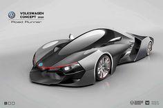 Volkswagen contest gaming car on Behance