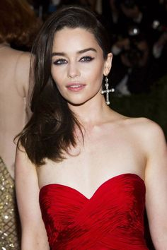 Photo collection of celebrity Emilia Clarke, one of the hottest women in Hollywood. Emilia Clarke is the English actress who stars as Daenerys Targaryen in the HBO fantasy series Game of Thrones. She has been nominated for an Outstanding Supporting Actress Emmy three times for her ro...