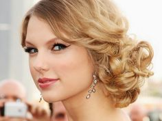 Messy updo hairstyles: How to do Taylor Swift's messy side swept updo look How To Curl Your Hair With a Curling. Description from afoheqajobo.co-ltd.org. I searched for this on bing.com/images