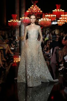 Elie Saab haute couture fall/winter 2015