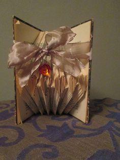 Folded book - Hearts...