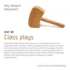 """""""Class plays"""" Things We Love About Waldorf Education"""